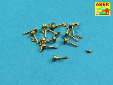 Wing nuts with turned bolt x 12 pcs. · AB 16105 ·  Aber · 1:16