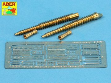 Set of two barrels ZB 37 for Panzer 38(t) · AB 16L-06 ·  Aber · 1:16