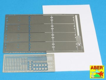 Side skirts for Panther A/D · AB 25019 ·  Aber · 1:25