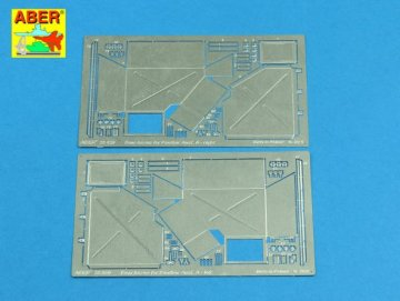 Rear boxes for (Sd.Kfz. 171) Panther Ausf.A · AB 25020 ·  Aber · 1:25