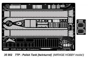 7TP (Polish Tank - twinturet) · AB 35002 ·  Aber · 1:35