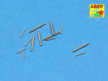 Set of barrels for Japan Destroyer: KAGERO 6 x 127mm/50 3rd Year Type. 8 x 25 mm type 96  A/A · AB 350L-71 ·  Aber · 1:350