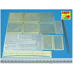 Mesh screens ´Thoma Sschild´ for T-34/85 · AB 35135 ·  Aber · 1:35