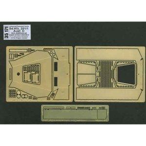Sd.Kfz. 251/1 Ausf D.-vol.5-add.set-Upper armour · AB 35171 ·  Aber · 1:35