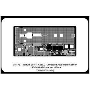 Sd. Kfz.251/1 Ausf.D-Vol.6-add.set-Floor · AB 35172 ·  Aber · 1:35