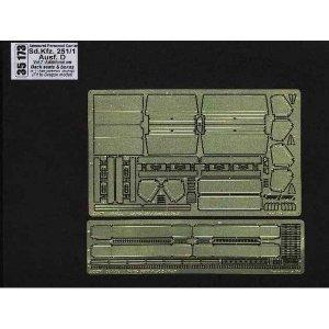 Sd. Kfz.251/1 Ausf.D-vol.7-add.set-back seats&boxes · AB 35173 ·  Aber · 1:35