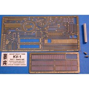 KV-1 vol.1-basic set · AB 35190 ·  Aber · 1:35