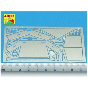 Additional armour for US Tank Destroyer M10 · AB 35A100 ·  Aber · 1:35