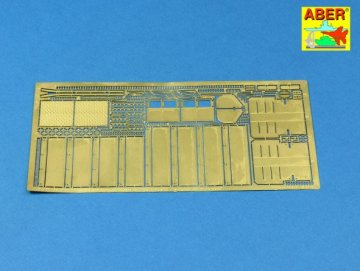 Fenders and exhaust covers for Tiger I (for early model in Africa) · AB 35A125 ·  Aber · 1:35