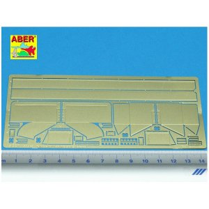 Fenders for T-34 (versions 1942-45) · AB 35A45 ·  Aber · 1:35