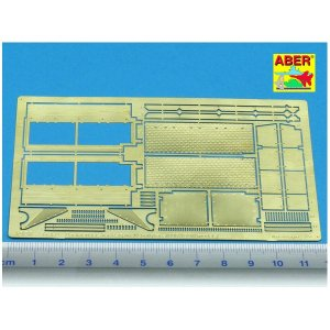 Back fenders for PzKpfw IV hull · AB 35A49 ·  Aber · 1:35