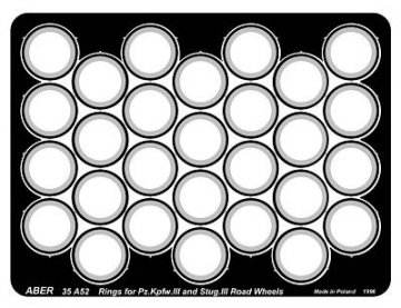 Rings between road wheels for Pz.III & Stug.III · AB 35A52 ·  Aber · 1:35