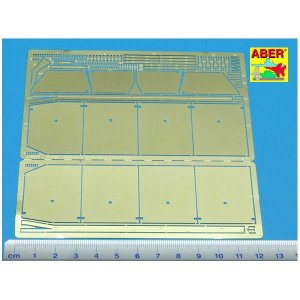 Side skirts for PzKpfw III · AB 35A54 ·  Aber · 1:35