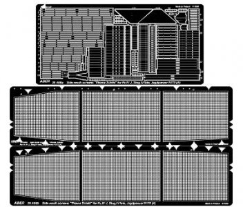 Side mesh screens for Pz.IVJ JgdPz.IV(A) · AB 35A66 ·  Aber · 1:35