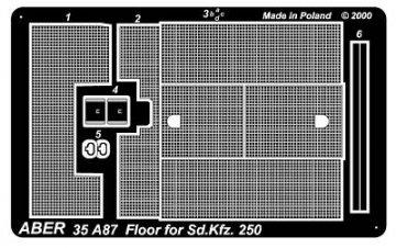 Floor for Sd.Kfz.250 · AB 35A87 ·  Aber · 1:35