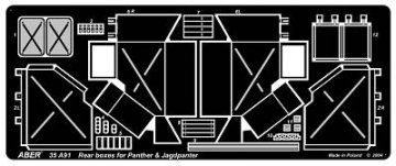 Rear boxes for Panther tanks&Jagdpanter · AB 35A91 ·  Aber · 1:35