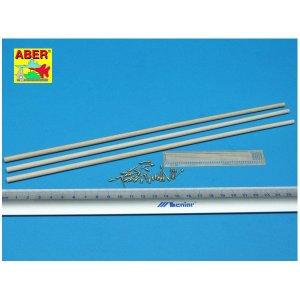 Telegraph-pillar set for 2 cross bar with 16 insulators each · AB 35D-10 ·  Aber · 1:35
