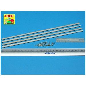 Telegraph-double pillar set for 4 cross bar with 8 insulators · AB 35D-11 ·  Aber · 1:35