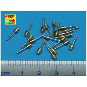 Set of 20 medium  insulators / Mittlere Strom Isolatoren · AB 35D-33 ·  Aber · 1:35