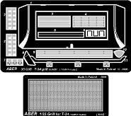T-34 grill cover [Tamiya model] · AB 35G08 ·  Aber · 1:35