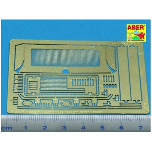 1/35 T-34/76 Mod.1940 grill cover · AB 35G11 ·  Aber · 1:35