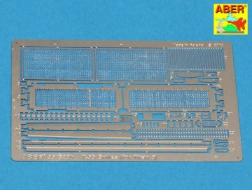 Grilles for Russian tank T-55 also Tiran 5 [Tamiya] · AB 35G28 ·  Aber · 1:35