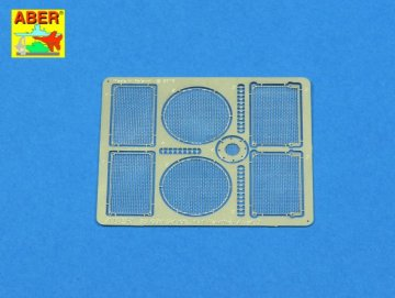 Grilles for PzKpfw V Ausf.D Panther (Sd.Kfz.181) · AB 35G30 ·  Aber · 1:35