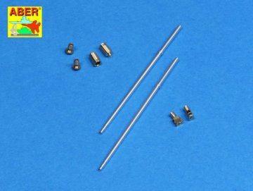 Set of barrels for BMPT Terminator 2 x 2A45 mm, 2 x AGS-17 30mm · AB 35L-177 ·  Aber · 1:35