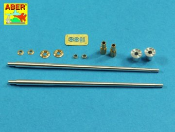 Armament for Soviet SPAAG ZSU-57-2 57mm S-68 x2pcs. · AB 35L-205 ·  Aber · 1:35
