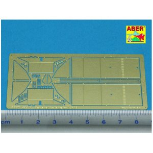 Rear small fuel tanks for T-34/76 · AB 48A07 ·  Aber · 1:48