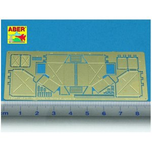 Rear boxes for Panther Tanks & Jagdpanther · AB 48A10 ·  Aber · 1:48