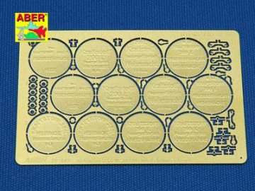 German WWII 200 ltr. fuel drum covers · AB 48A18 ·  Aber · 1:48