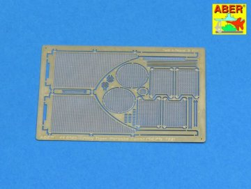 Grilles for Sd.Kfz. 182 King Tiger (Porsche Turret) · AB 48A27 ·  Aber · 1:48