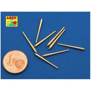 Set of 8 pcs 381mm long barrels for turrets without antiblast covers ships Hood · AB 700L-08 ·  Aber · 1:700