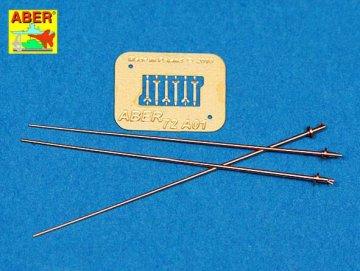 German 2 m antennas x3 pcs · AB 72A01 ·  Aber · 1:72