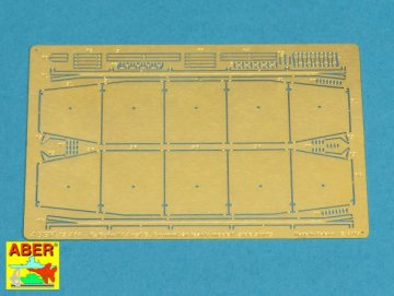 Side skirts for PzKpfw IV. Ausf.G. early Brummbar · AB 72A04 ·  Aber · 1:72