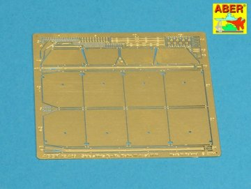 Side skirts for PzKpfw III · AB 72A09 ·  Aber · 1:72