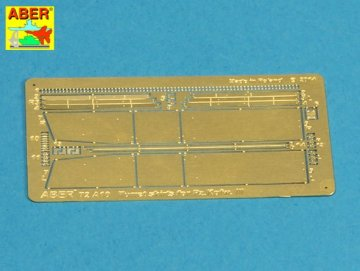 Turret skirts for PzKpfw III · AB 72A10 ·  Aber · 1:72
