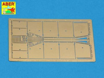Side skirts for Sturmgeschutz III (Early model) · AB 72A11 ·  Aber · 1:72