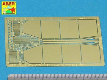 Side skirts for Sturmgeschutz III (Late model) · AB 72A12 ·  Aber · 1:72