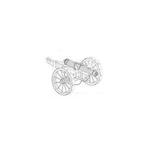 Napoleonic war period – British 6-pounder gun · AB 72M-01 ·  Aber · 1:72
