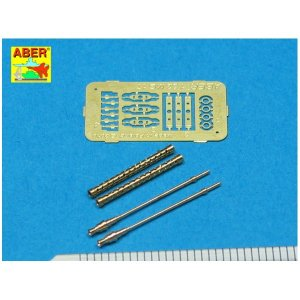 Set of 2 German barrels for 7,92 mm MG 17 aircraft machine guns · AB A32002 ·  Aber · 1:32