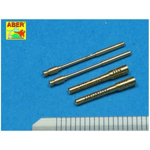 Set of 2 German barrels for 13mm aircraft machine guns MG 131 (middle type) · AB A32006 ·  Aber · 1:32