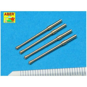 Set of 4 Japanese barrels for 20 mm Type 99 aircraft machine cannons · AB A32014 ·  Aber · 1:32