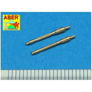 Set of 2 German barrels for 13mm aircraft machine guns MG 131 (middle type) · AB A48006 ·  Aber · 1:48