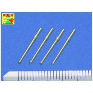 Set of 4 barrels for Japanese 20 mm Type 99 aircraft machine cannons · AB A48014 ·  Aber · 1:48