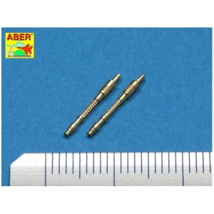 Set of 2 barrels for German 13mm aircraft machine guns MG 131 (late type) · AB A48021 ·  Aber · 1:48