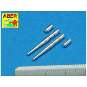 Set of two barrels for Hispano 20mm machine cannons for British fighter Spitfire · AB A48022 ·  Aber · 1:48