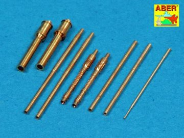 Armament for German fighter Focke-Wulf Fw 190 A-7 up to A-10 & D-9 2x MG 131 : 4xMG 151: pitot tube · AB A48111 ·  Aber · 1:48