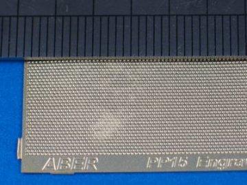 Engrave plates  (4 models - 140x40 mm) · AB PP15 ·  Aber